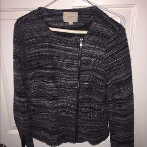 LOFT black and gray jacket -Women's